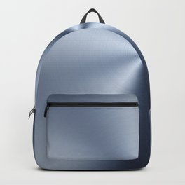 Radial Brushed Metal Texture - Industrial Graphic Design Backpack