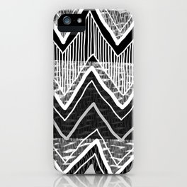 Sunchoke #5 // Black + White Version iPhone Case