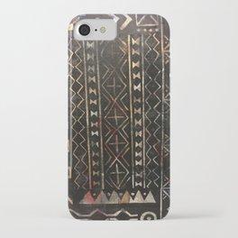 Golden Mud Cloth iPhone Case