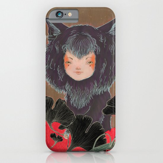 Fox Spirit Kitsune in Gingko iPhone & iPod Case