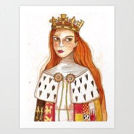 Anne Neville Art Print