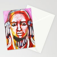Anguish Stationery Cards