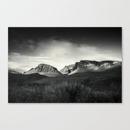 Moody Mountains Canvas Print