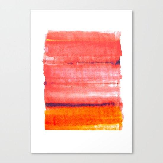 Summer heat Canvas Print
