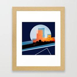 colorado sunset no. 4 Framed Art Print