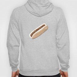 Hot Dog Pattern Hoody