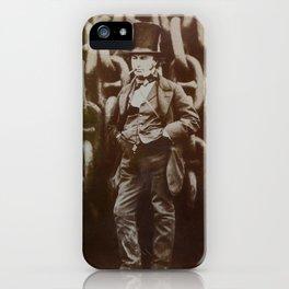 Isambard Kingdom Brunel iPhone Case