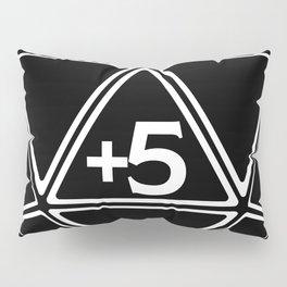 D20 Plus 5 Bonus to Everything Pillow Sham