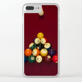 ON THE WAY Clear iPhone Case