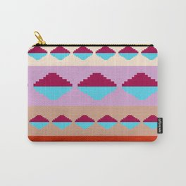 Tribal Pyramid Refection Carry-All Pouch