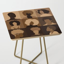 FOR BROWN GIRLS COLLECTION COLLAGE Side Table
