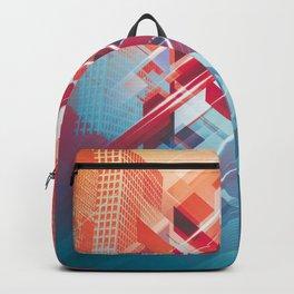 Future Cityscape Backpack