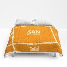 This is SF (burn) Comforters