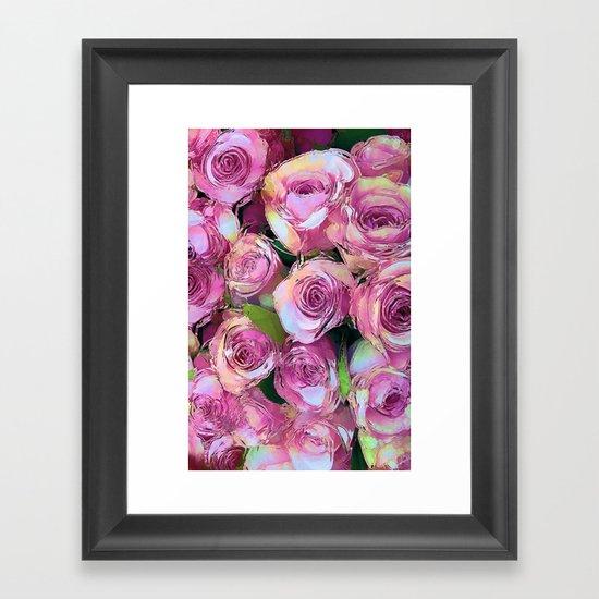 Gypsy Roses Framed Art Print