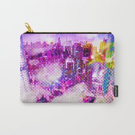 Retro Comic City Carry-All Pouch