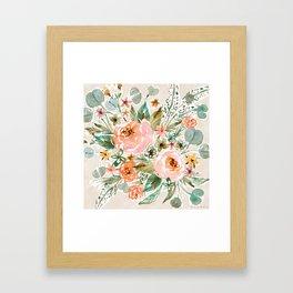 SMELLS LIKE PACIFICA BREEZES Framed Art Print
