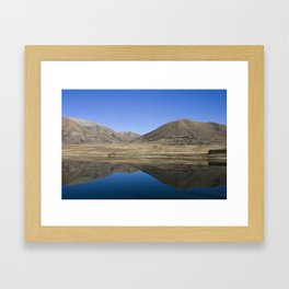 Lake Clearwater, two Framed Art Print