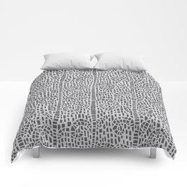 Grow in Grey Comforters