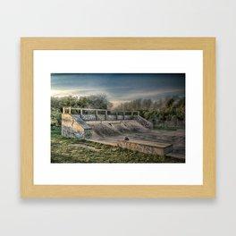 Ramp Framed Art Print