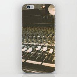 Studio Mixing Board iPhone Skin
