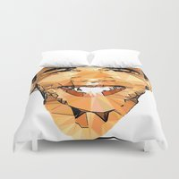 obama Duvet Covers featuring ICONS: Obama by LeeandPeoples