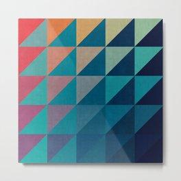 Colorful square composition V Metal Print