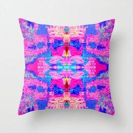 Lotus Mania Throw Pillow