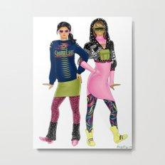 Fashion Journal: Day 23 Metal Print