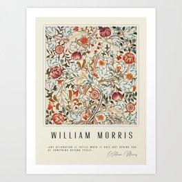 Modern poster-William Morris-Vegetable print 6. Art Print