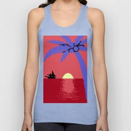 Voyage  at  the  Cantaloupe  Seas Unisex Tank Top