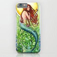Kelp Forest Mermaid Slim Case iPhone 6