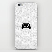 xbox iPhone & iPod Skins featuring Xbox One Controller by Tino-George