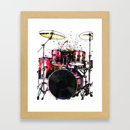 One Two Three Four Framed Art Print