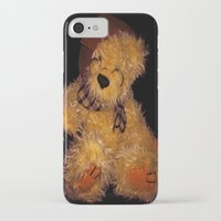 teddy bear iPhone & iPod Cases featuring Teddy by Doug McRae