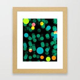 magic bubbles Framed Art Print