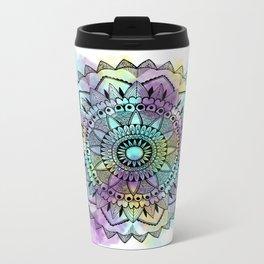 Colourwash Mandala Metal Travel Mug