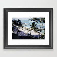 Mom & Dad's Hawaii Trip Slide No.2 Framed Art Print