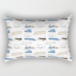 Trains Rectangular Pillow