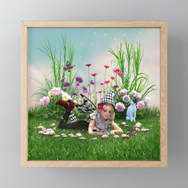 Fairy Ring Enchantment Framed Mini Art Print