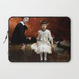 John Singer Sargent - Portrait of Édouard and Marie-Louise Pailleron Laptop Sleeve