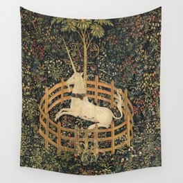 The Unicorn In Captivity Wall Tapestry