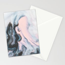 Modern marble 01 Stationery Cards