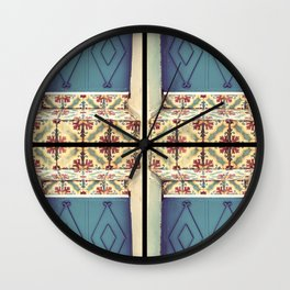 Pattern & colore Wall Clock