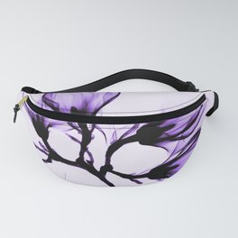 Vintage Magnolia Branch - Purple Fanny Pack