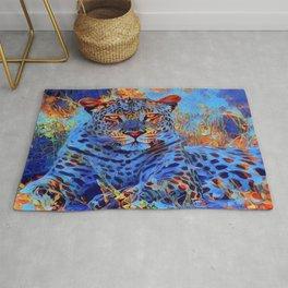 Big Cat Models: Leopard Laze 01-01 Rug