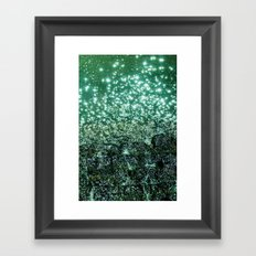 NATURAL SPARKLE Framed Art Print