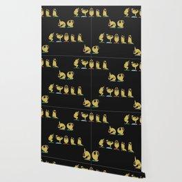 Be Still Alphabet Pugs Wallpaper