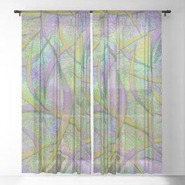 Filament Fever Sheer Curtain