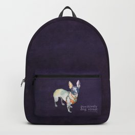American Hairless Terrier Backpack