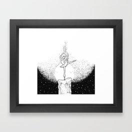Burning Bright Framed Art Print